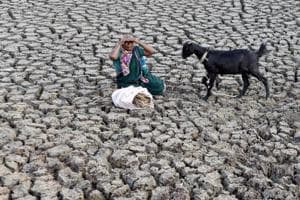 Droughts are a frequent occurrence in India.