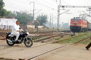 The Railways aims to eliminate all unmanned level crossings by March 2020.