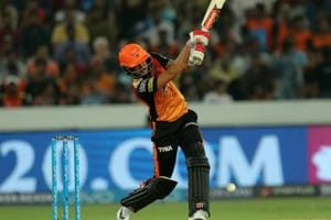 Manish Pandey hit his second fifty of the 2018 Indian Premier League but Sunrisers Hyderabad managed just 132/6 against Kings XI Punjab.