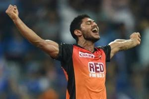 Sunrisers Hyderabad bowler Basil Thampi has put in impressive showings in the Indian Premier League.