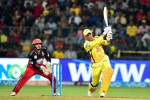 MSDhoni blasted 70* off 34 balls to power Chennai Super Kings to a thrilling five-wicket win over Royal Challengers Bangalore.