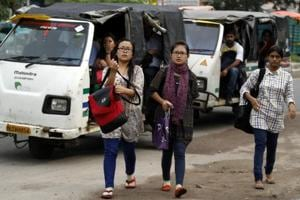 (Picture for representation purpose only) North-Eastern students in North Campus, Delhi University.