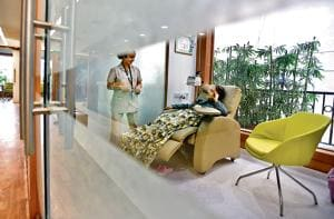 A standalone cancer care centre set up in Delhi by Max and GE Healthcare in 2016.