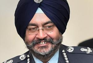 IAF chief BS Dhanoa.