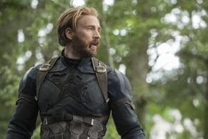 This image released by Disney shows Chris Evans in a scene from Marvel Studios