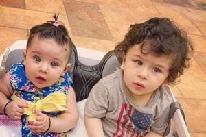 Inaaya and Taimur had a fun time together on Friday.