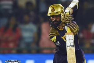 Dinesh Karthik is leading the Kolkata Knight Riders in the 2018 edition of the Indian Premier League (IPL).
