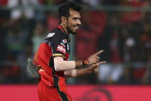 Royal Challengers Bangalore's Yuzvendra Chahal has taken seven wickets so far in IPL 2018.