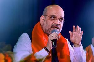 File photo of Bharatiya Janata Party president Amit Shah.
