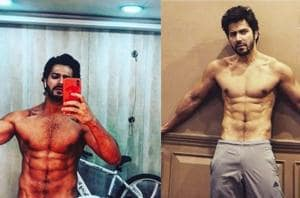 Varun Dhawan mixes cardio, weight lifting and pilates to sculpt his totally fit body.