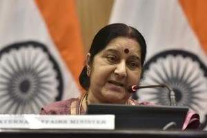 Minister of external affairs, Sushma Swaraj, will hold the meeting with the aim to update some of the chief ministers who have been elected recently.