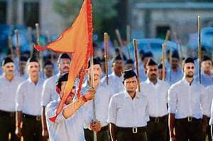 RSS observers say there was some churn within the Sangh brass and cadre on the outfit's core issues being put on the back burner for the sake of political expediency.