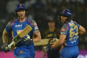 Rajasthan Royals' Ben Stokes (L) and Jos Buttler have failed to fire in unison in the Indian Premier League (IPL) 2018.