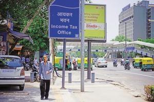 09 July, 2014, New Delhi : Income tax office near ITO. Photo By Pradeep Gaur/ Mint