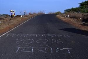 All roads in Sindhudurg and Ratnagiri have slogans against the project.