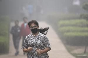 A toxic haze engulfed Delhi for more than a week in November 2017.