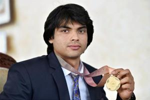 Neeraj Chopra won the gold medal in men's javelin throw at the 2018 Commonwealth Games in Gold Coast.