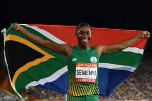Caster Semenya, a double Olympic and triple world champion over 800m and who completed the 800-1500 double at the Commonwealth Games last month, has always been a controversial figure in the sport.