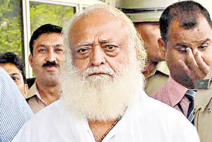 Madhu Sudan Sharma, the judge of the special SC/ST cases court in Jodhpur metropolitan, had recently sentenced self-styled godman Asaram (in pic) to life imprisonment in a rape case.