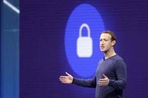 Facebook CEO Mark Zuckerberg makes the keynote speech at F8, theFacebook