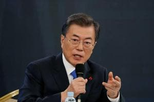 File photo of South Korean President Moon Jae-in.