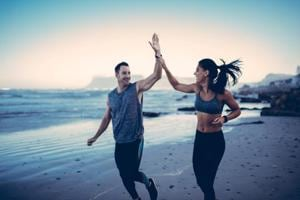 Is exercising together the right decision for you?