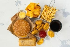 Trans fat is present in processed food.