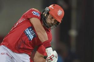 Kings XI Punjab cricketer Yuvraj Singh has the worst strike rate of any batsman who has played 50 balls or more.