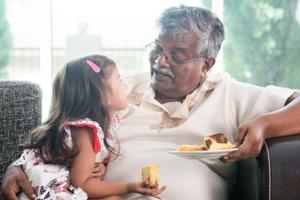 Visit the grandparents and let the children bond with them. Their love and emotional support is very important for your child.