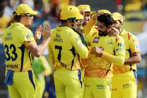 Chennai Super Kings spinner Ravindra Jadeja was named Man of the Match for his performance against Royal Challengers Bangalore in an IPL 2018 game in Pune on Saturday.