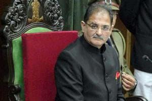 File photo of Jammu and Kashmir deputy chief minister Kavinder Gupta.