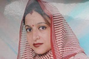 File photo of Kiran Bala who married a Pakistani