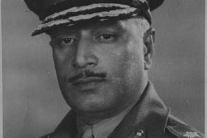 Former Indian Army chief General Kodendera Subayya Thimayya.