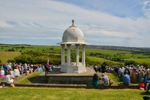 The Chattri memorial on the Downs at Brighton was built to honour Indian soldiers who made the supreme sacrifice in World War 1.