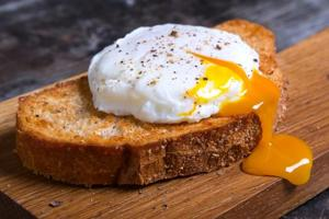 Eggs are a rich source of Vitamin D, Vitamin A and Vitamin B12.