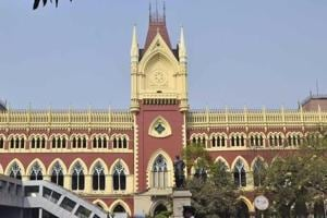 The Calcutta high court, in Kolkata. The opposition has accused the ruling Trinamool Congress of using strong arm tactics ahead of Bengal panchayar polls.