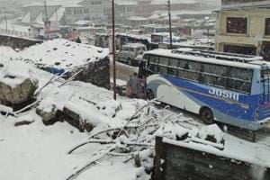 The yatra has been put on hold only temporarily and will be resumed with improvement in the weather.