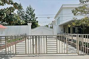 Former CM Akhilesh Yadav's bungalow.