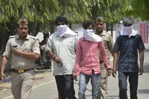 Police arrested four people for murdering a woman and burying her body in August, 2017 from Ghaziabad on Sunday.
