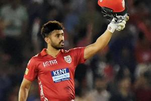 Karun Nair has been recalled to the Indian team after losing his place in recent months.