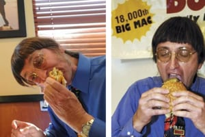 Don Gorske made news in October when Guinness Book of World Records representatives recorded him eating his 29,482 nd Big Mac.