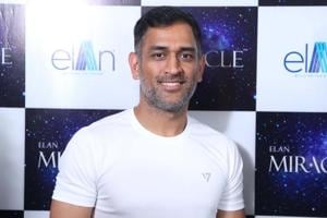 MS Dhoni was part of an event held by a sponsor when he made the revelation about his first crush.