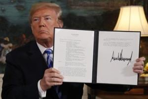 US President Donald Trump's decision to abandon the Iran nuclear agreement has shocked the world, with America's closest allies such as France, Germany and the UK expressing concern over it while Iran's foes Israel and Saudi Arabia welcoming the move.