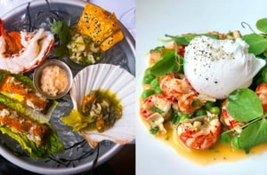 Sumptuous dishes at Highlands Bar & Grill.