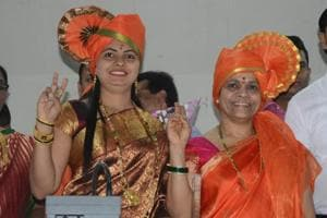 Mayor Vinita Vishwanath Rane in Kalyan
