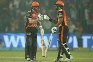 Kane Williamson and Shikhar Dhawan led Sunrisers Hyderabad's successful chase against Delhi Daredevils in an Indian Premier League (IPL) 2018 at the Feroz Shah Kotla Ground.