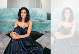 From being a glamour girl and one half of a celebrity couple to becoming a multi-hyphenate star, Padma Lakshmi's journey has been long and one of self-discovery. (Location: The Taj Mahal Palace, Mumbai; Make-up: Sonic Sarwate, Global Senior Artist at M.A.C Cosmetics India;Hair: Sanky Evrus)