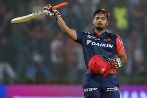 Rishabh Pant slammed 128 off just 63 balls for Delhi Daredevils during their Indian Premier League (IPL)match against Sunrisers Hyderabad.