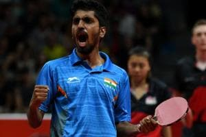 G Sathiyan, who won three medals at the 2018 Commonwealth Games, has signed with German club ASV Grunwettersbach Tischtennis.