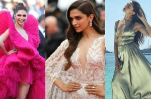 Deepika Padukone has been heating up the 2018 Cannes Film Festival red carpet with some seriously sexy dresses. And we've tracked her every single look for you. (Instagram)